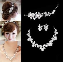 Design Flower Crystal Pearl