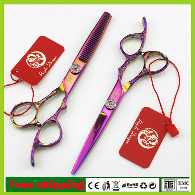 Japanese Hairdressing Scissors 6.0 inch Professional Hair Cutting &amp; Thinning Scissors High Quality JP440C Barber Salon Shears<br><br>Aliexpress