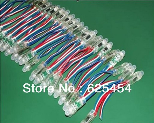 5Waterproof DC5V WS2801 pixel module LED Colorful String Smart RGB Pixel Direct Light - Pleasant Foreign Trade store