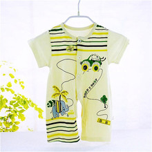 2016 Baby Rompers Next Child Boxer Short-sleeved Summer Children's Clothing Infant Leotard Baby Romper Climbing Clothes C-wf035(China (Mainland))