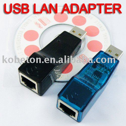 USB Ethernet RJ45 Adaptor Network Lan Card Hot Selling Ethernet External Lan Card Adapter 10/100 Mbps for Laptop PC(China (Mainland))