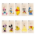 New Donald Daisy Duck Mickey Minnie Mouse Case For iPhone 6s Plus 7 Plus Cute Hello Kitty Back Cover,With Ring Stand Holder