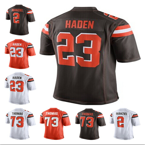 2015 Cleveland Football Jerseys, Cheap Cleveland 23 Joe Haden Jersey Brown White Orange new style, Men's Elite Embroidery Jersey(China (Mainland))