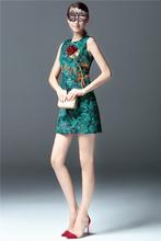 kiccoly Women dress runway dress fashion brand summer dress robe Printing Waist was thin dress family matching outfits maxi