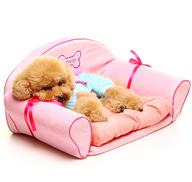 New comfortable dog sofa dog bed kennel doghouse cute puppy(China (Mainland))