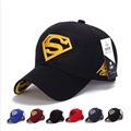 Superman brand baseball cap unisex adjustable snapback hat man sports hat female outdoor sun hat fashion