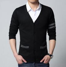 2015 fashion autumn Mens sweaters male V neck winter Cardigan men Knitwear Sweater Slim Casual Sweater brand cardigan masculino(China (Mainland))