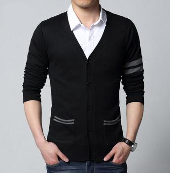 2015 fashion autumn Mens sweaters male V neck winter Cardigan men Knitwear Sweater Slim Casual Sweater brand cardigan masculino