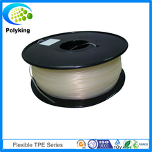 2016 Natural 1KG /Spool 3D Printer Filament Flexible Consumables 1.75MM 3MM PLA Transparent Color For MakerBot RepRap UP Mendel