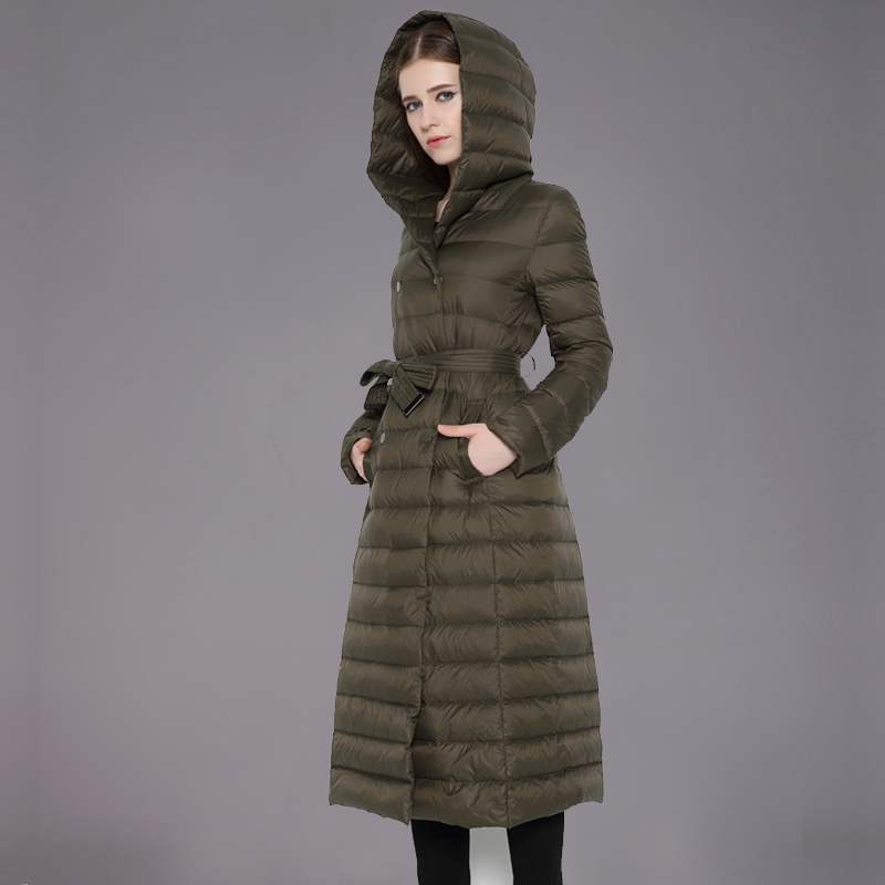 Long Down Winter Coat Photo Album - Reikian