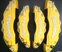 The latest styles 3D Brembo Style Universal Disc Brake Caliper Covers  Yellow  4pcs/set (2 pcsFRONT and 2 pcsREAR)