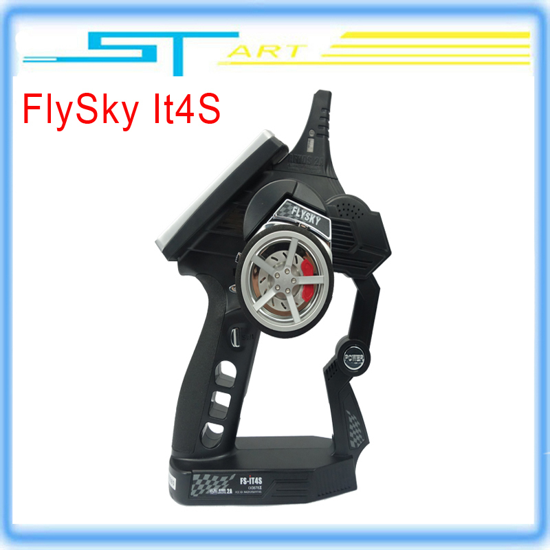 Flysky FS-iT4S 2.4GHz Car Radio AFHDS 2 4CH Gun RC Radio System Transmitter Controller with Touch Screen iT4S PK FS iT4