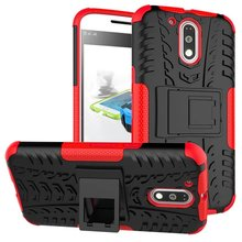 Shockproof Armor Case Motorola Moto G4 Plus Cases Heavy Duty Defender Cover Stand Function 2 in1Smartphone - Ashleycase store