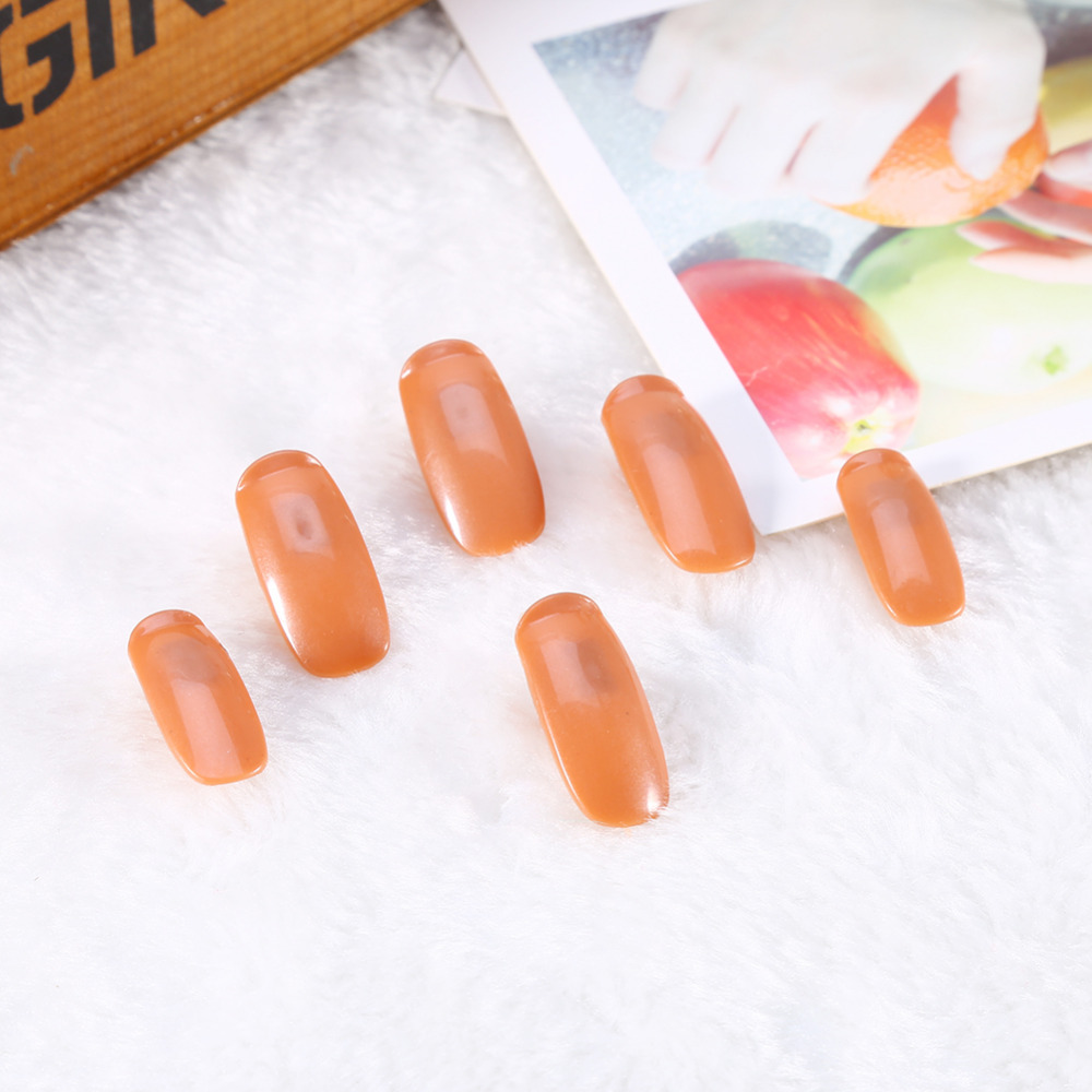 100pcs/Lot Refill Replace False Finger Tips For Flexible Training Practice Trainer Hand Nail Art Tools Replacment T16(China (Mainland))