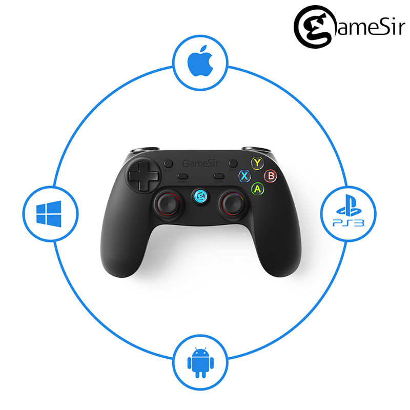 GameSir G3s Gamepad for PS3 Controller Bluetooth&2.4GHz snes nes N64 Joystick PC for Samsung Gear VR Box for SONY Playstation 3