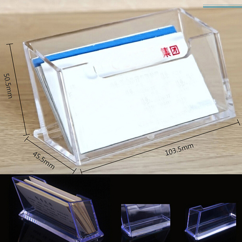 Online Buy Wholesale Plastic Business Card Holder From