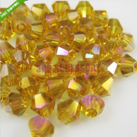 Здесь можно купить  AAA Quality Glass Crystal 8mm Disco Bicone Beads 3200pcs/lot Amber Gold AB Plated Fit For Fashion Jewelry DIY Making AAA Quality Glass Crystal 8mm Disco Bicone Beads 3200pcs/lot Amber Gold AB Plated Fit For Fashion Jewelry DIY Making Ювелирные изделия и часы