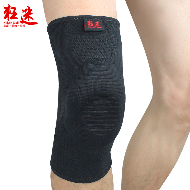 Crazy fans running professional sports basketball badminton kneepad riding mountaineering outdoor summer breathable male protect(China (Mainland))