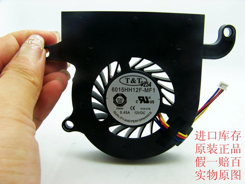 Free Shipping T&amp;T 6015HH12F-MF1 12V0.45A notebook fan<br><br>Aliexpress