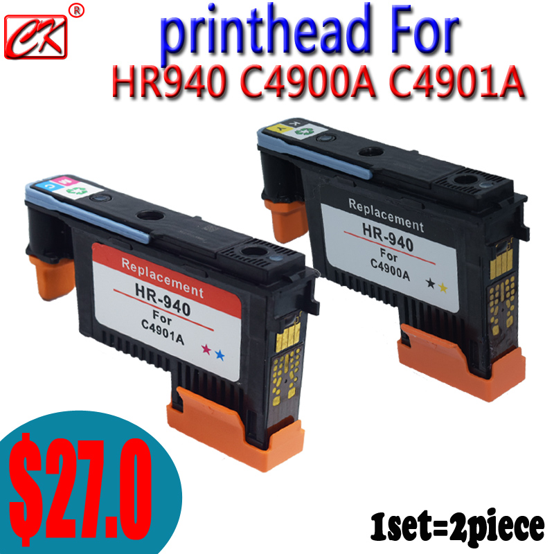 Remanufactured 940 Printhead for HP 940 8000 8500 8500A Printhead Print Head ( C4900A C4901A )<br><br>Aliexpress