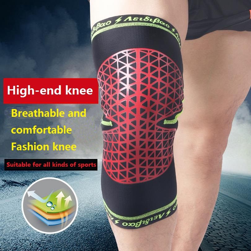 Anti-Collision Basketball Knee Strap Warm Outdoor Climbing Cycling Sport Knee Guards Brand Sporting Goods Unisex Rodillers F601(China (Mainland))
