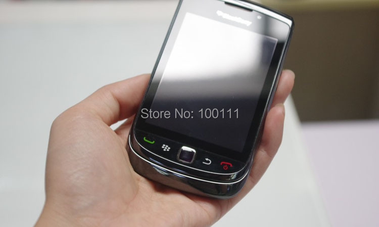 (black ) Original Blackberry 9800 Mobile Phone with Touch Screen, QWERTY Keyboard,5MP Camera Free DHL-EMS Shipping(Hong Kong)