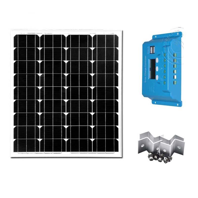 Portable Placa Solar 70W 12V Photovoltaic Panels Solar Controller Regulators 10A 12V/24V Z Bracket Solar kit Solar Power System(China (Mainland))