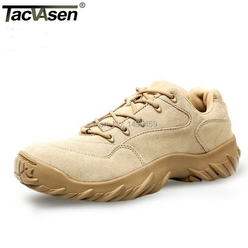Desert low US Army Military Tactical shoes outdoor men mountain hunting shoes male combat boots Climbing Trekking Boot(China (Mainland))