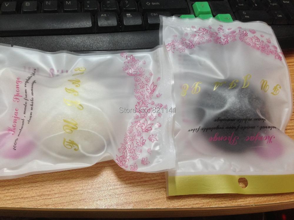 Holika Holika 100% Natural Konnyaku Konjac Jelly Fiber Face Wash Cleansing Sponge Puff Exfoliator Cleaner Flutter Corneous Black(China (Mainland))