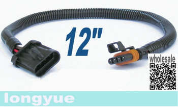 longyue  20pcs LS6 LT1 Corvette Oxygen O2 Sensor Header Extension 4 PIN FLAT 30cm wire