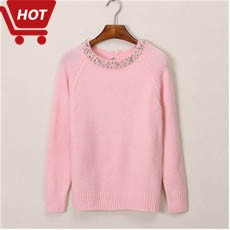 Women Sweater 2016 Winter Autumn Pullover Retro Twisted Sweaters Jumper O-Neck Pull Femme Long Sleeve Sueter Tops Mujer 191Q20