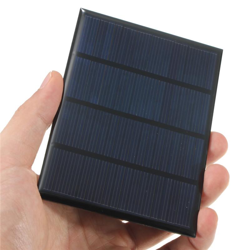 12V 1.5W Epoxy Solar Cells Solar Panel Mini Polycrystalline Silicon Solar DIY Battery Charger Solar Module System 115x85mm(China (Mainland))