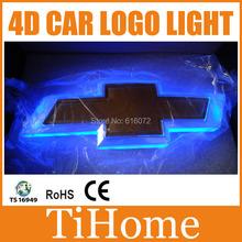 Free Shipping  4D LED CAR LOGO LIGHT/LAMP,4D LED car badge light for CHEVROLET Cruze/Captiva/Epica(China (Mainland))