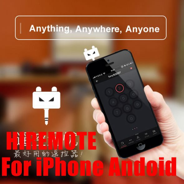 Hiremote TV DVD Speaker Air conditioner Infared Universal remote controller for IOS iPhone PLUS iPad Android Galaxy Smart phone(China (Mainland))