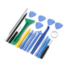 New Professional 18 in 1 Repair Opening Tool Funcitonal Cellphone Disassemble Set Kits For iPone 6 6plus 5 5s S4 S3 For HTC