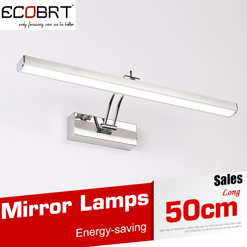 8W 50CM LED Wall Lamps Modern Bathroom Furniture Lights With Rotated Arm for Home Decoration Wall Lights AC 110 / 220V(China (Mainland))