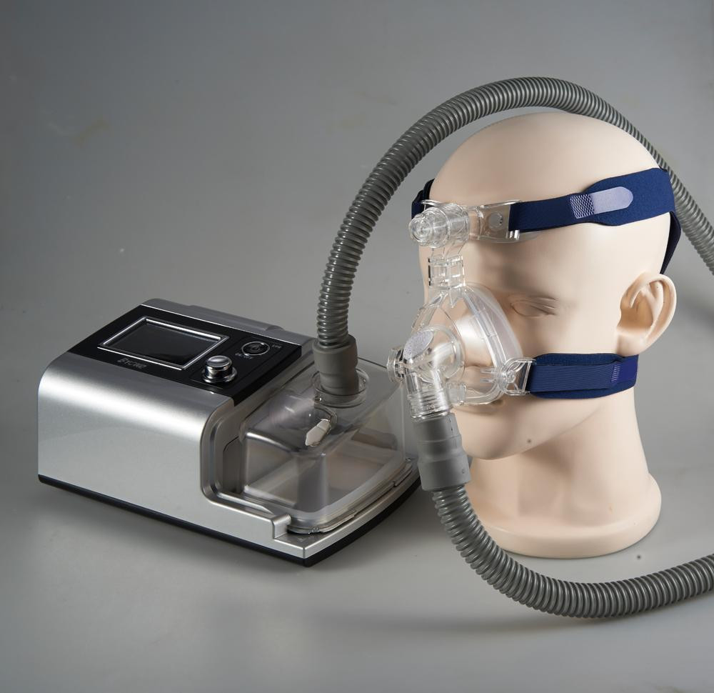 Portable Breathing Apparatus Auto CPAP Machine for Sleep Apnea with humidifier with CE(China (Mainland))