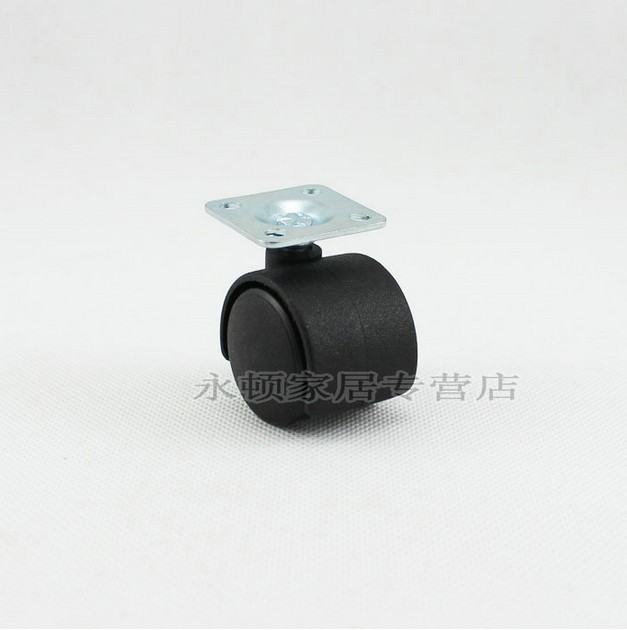 """1"""" Cupbord PARTS ABS CASTERS WHEELS 5pcs SET Perfect for Furniture/Office Desk"""