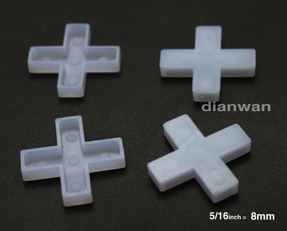 8mm.Tile Spacers for Spacing of Floor or Wall Tiles, 300-Piece(China (Mainland))