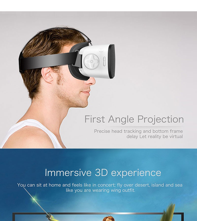 CX-V3 All In One Headset Allwinner H8 VR Octa Core 5.5 Inches 1080P FHD Display VR Immersive 3D Glasses Virtual Reality Headset