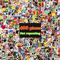 400pcs lot Funny American Cartoon emoji Auto DIY car styling Stickers waterproof jdm vinyl laptop sticker
