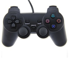 Black USB Wired PC Gamepad Game Controller Dual Vibration Joystick Joypad Controller for PC Computer Laptop