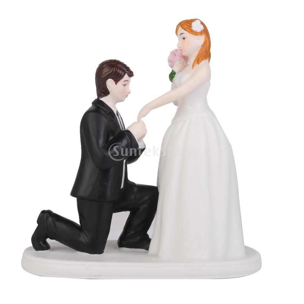 Ceramic Bride And Groom Figurine Figurine Bride Groom