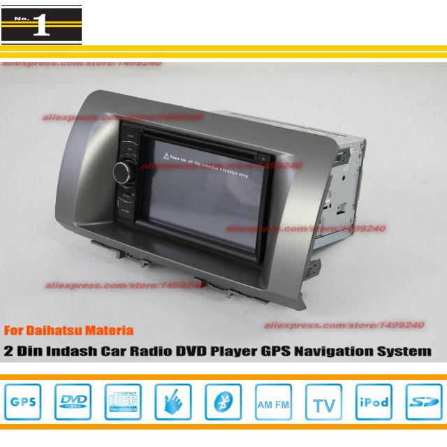 For Daihatsu Materia 2006 ~ 2012 - Car Radio Stereo CD DVD Player GPS NAVI / HD Touch Screen Audio Video S100 Navigation System(China (Mainland))