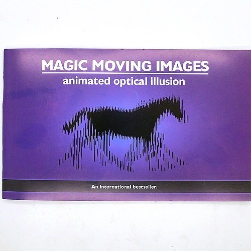 Magic moving images-An amazing new optical illusion-magic props-magic tricks-48%discountEMS