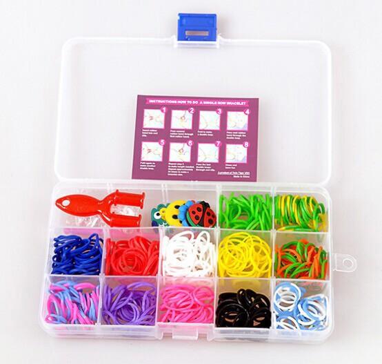 Набор для плетения браслетов 450 шт. фото