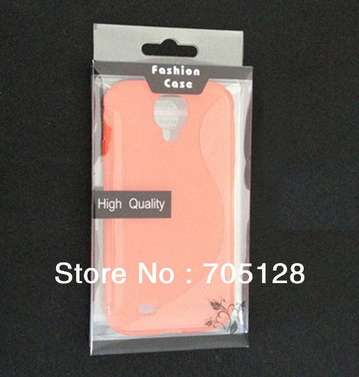 For Samsung Galaxy S4 i9500, For Sony Xperia Z L36h L36i TPU / Silicone / Plastic Case Blister Package, 200pcs(Hong Kong)