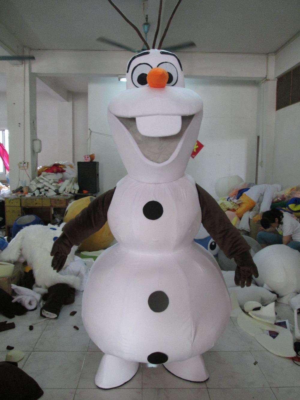 Costume bonhomme de neige olaf reine des neiges cosplay - Bonhomme de neige olaf ...
