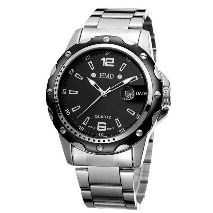 New luxury brand watches Men quartz watch men's sports watches atm clock steel waterproof casual men's watch Relogio masculino(China (Mainland))