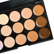 Makeup 15 Colors Concealer Palette Face Cream Professional Salon Party New